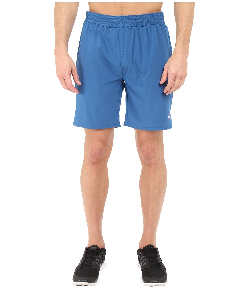 TravisMathew - RED Carl Shorts (Deep Water) Men's Shorts