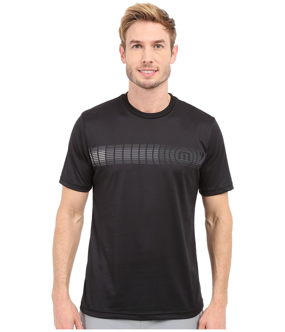 TravisMathew - RED Truman Shirt (Black) Men's T Shirt