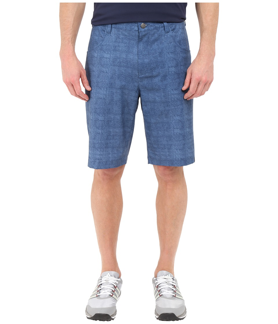 adidas Golf - Ultimate Chino Shorts (Mineral Blue) Men's Shorts