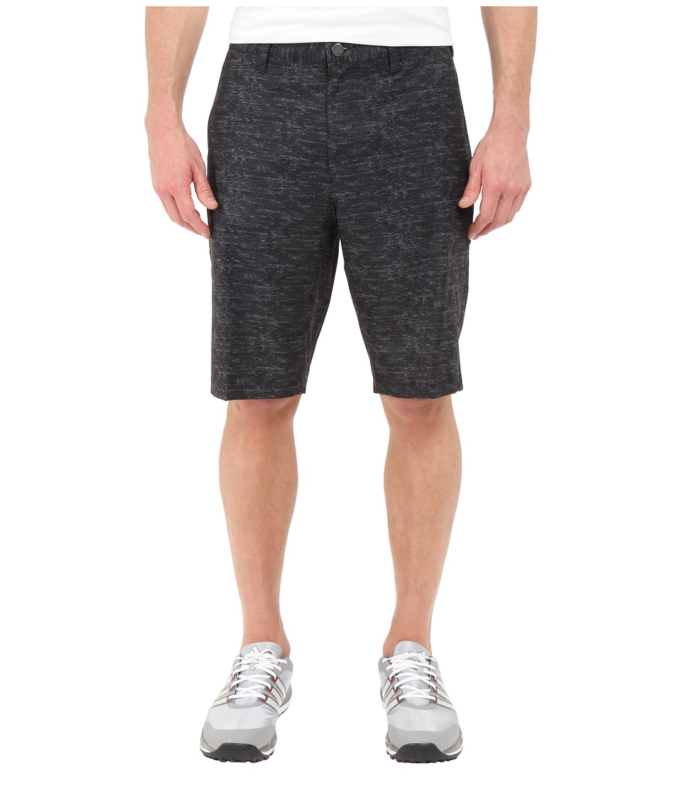 adidas Golf - Ultimate Heather Shorts (Black) Men's Shorts