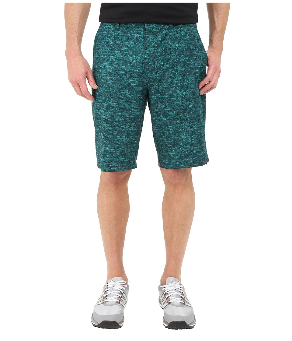 adidas Golf - Ultimate Heather Shorts (EQT Green) Men's Shorts