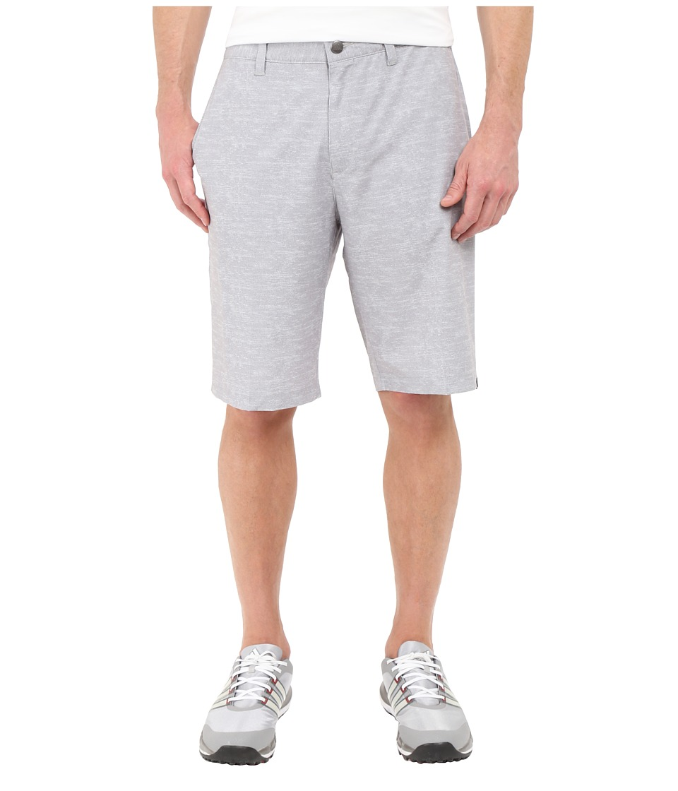 adidas Golf - Ultimate Heather Shorts (Solid Grey) Men's Shorts