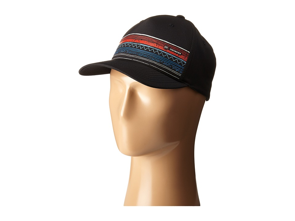 TravisMathew - RED Zissou Cap (Black) Caps