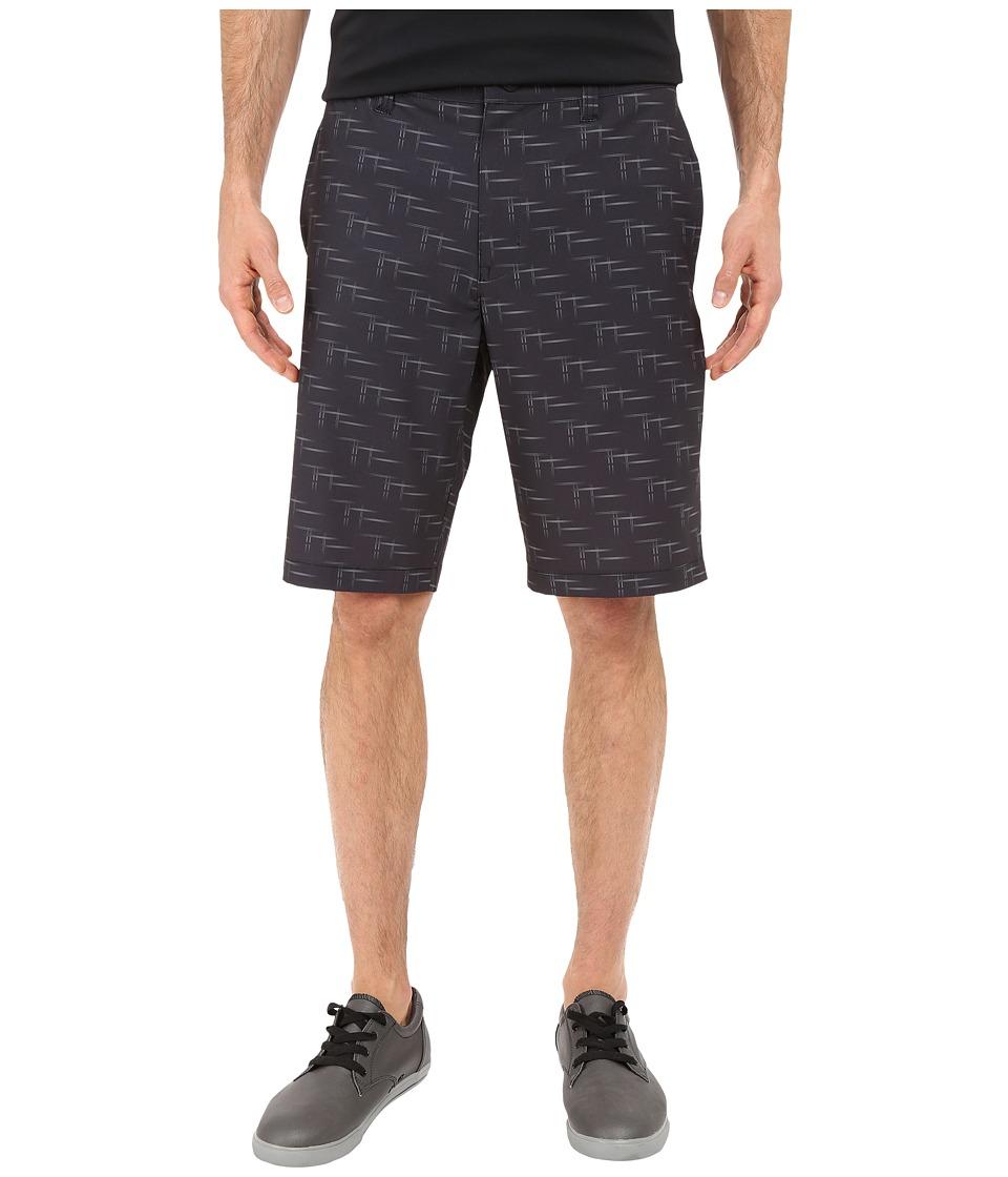 TravisMathew - RED Galley Shorts (Black) Men's Shorts