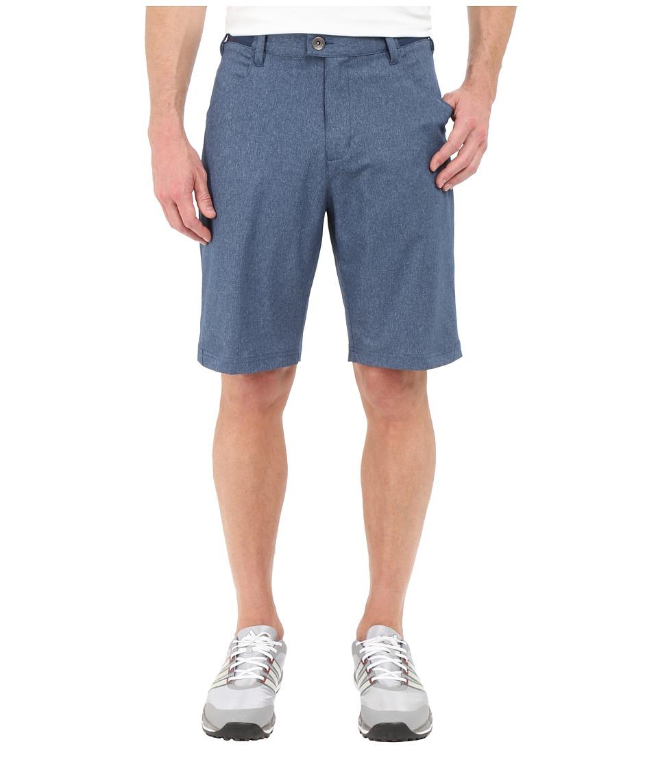 adidas Golf - Range Five-Pocket Shorts (Mineral Blue Heather) Men's Shorts