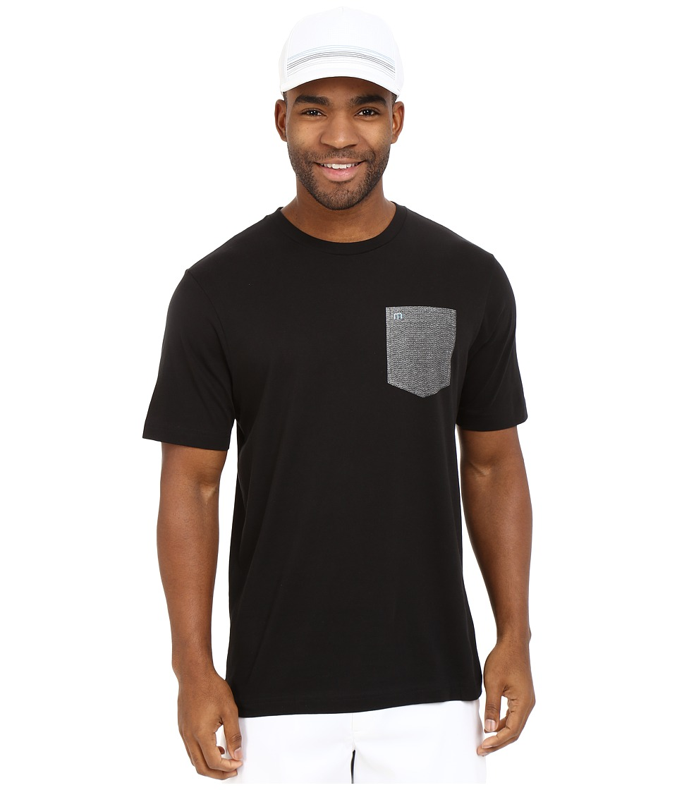 TravisMathew - RED Three Pac Shirt (Black) Men