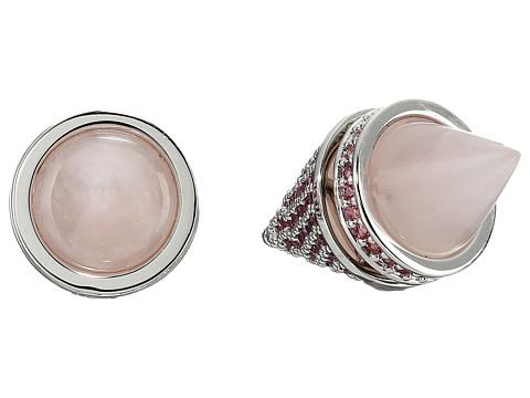 Eddie Borgo - Twin Cone Stud (Silver) Earring