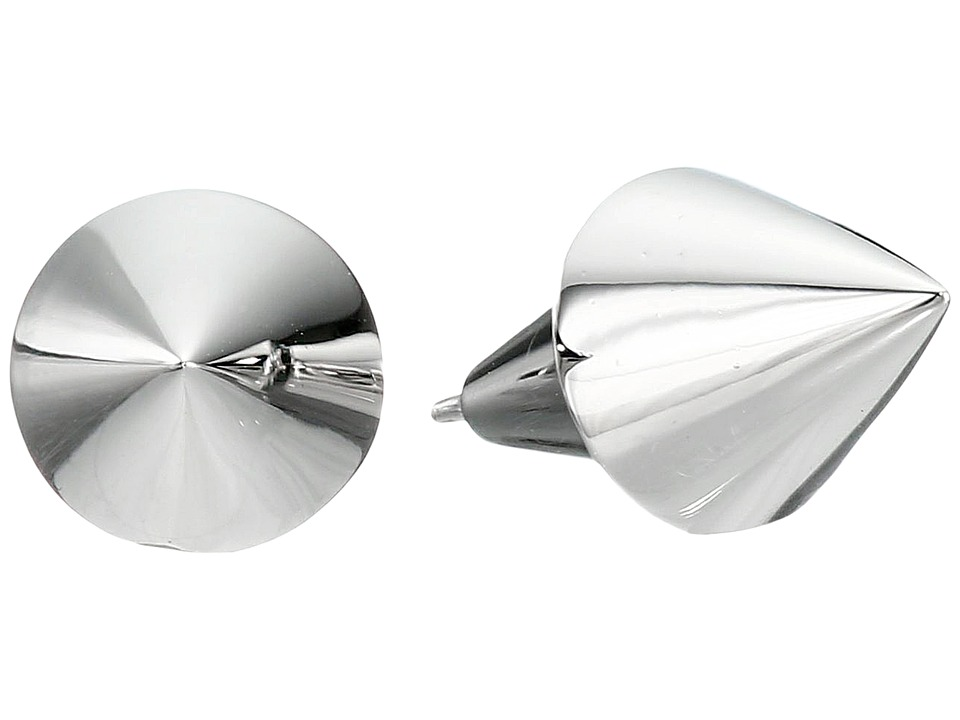 Eddie Borgo - Cone Stud Earrings (Silver) Earring