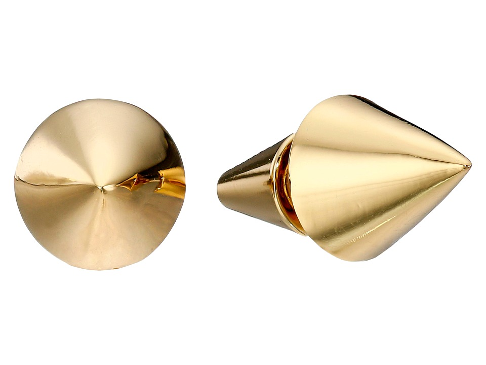 Eddie Borgo - Cone Stud Earrings (Gold) Earring