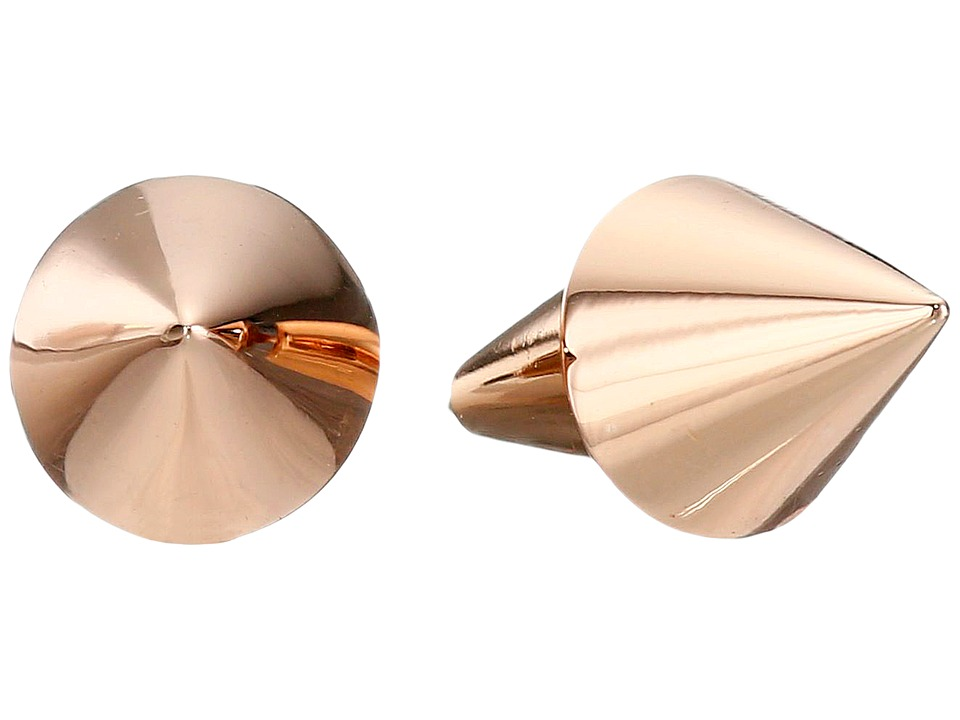 Eddie Borgo - Cone Stud Earrings (Rose Gold) Earring