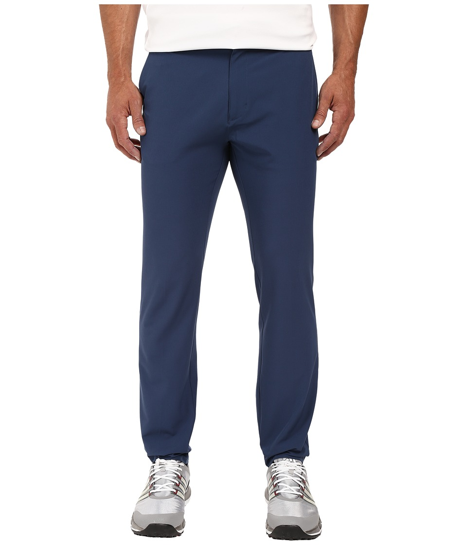 adidas Golf - Ultimate Tapered Fit Pants (Mineral Blue) Men's Casual Pants