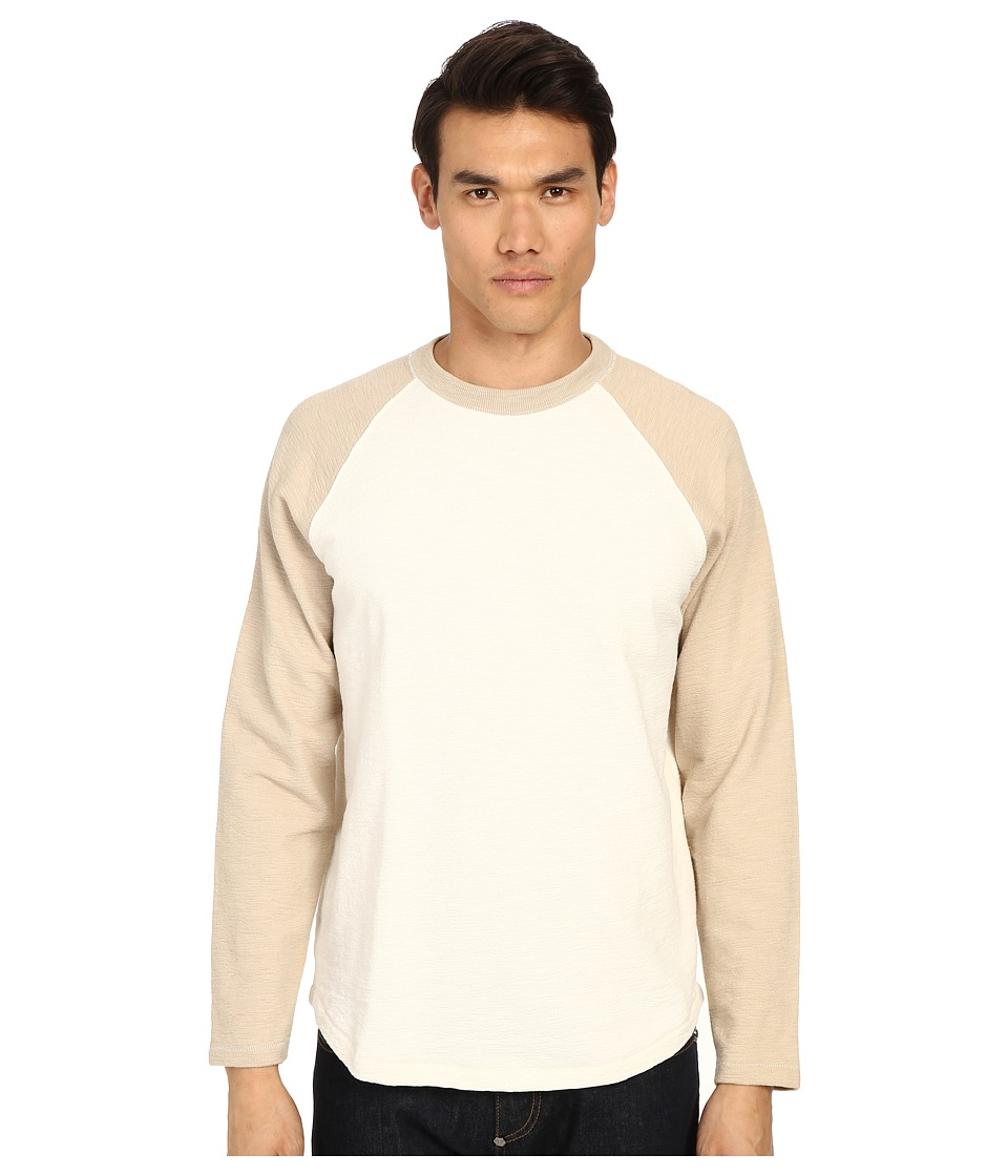 Billy Reid - Baseball Pullover (Natural/Sand) Men
