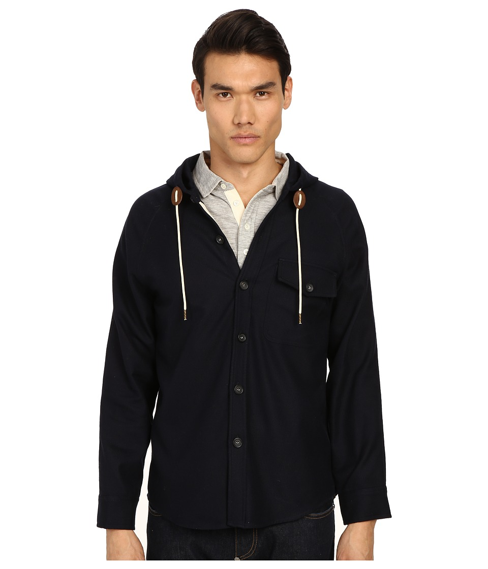 Billy Reid - Ray Jacket (Navy) Men's Coat