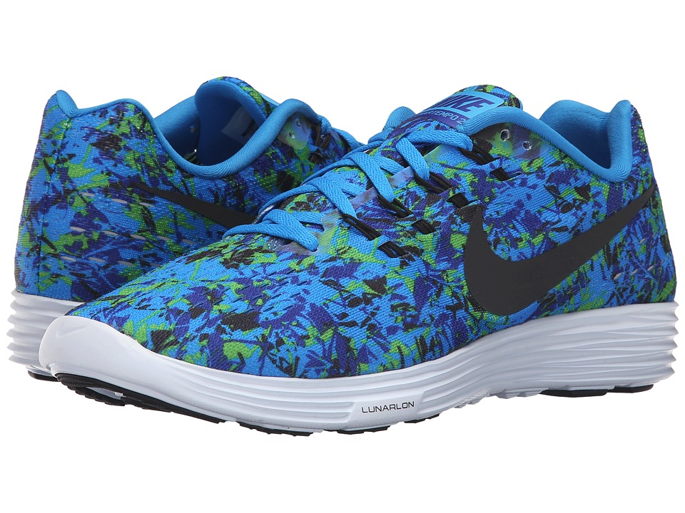 Nike - Lunartempo 2 Print (Photo Blue/Concord/Electric Green/Black) Men's Running Shoes