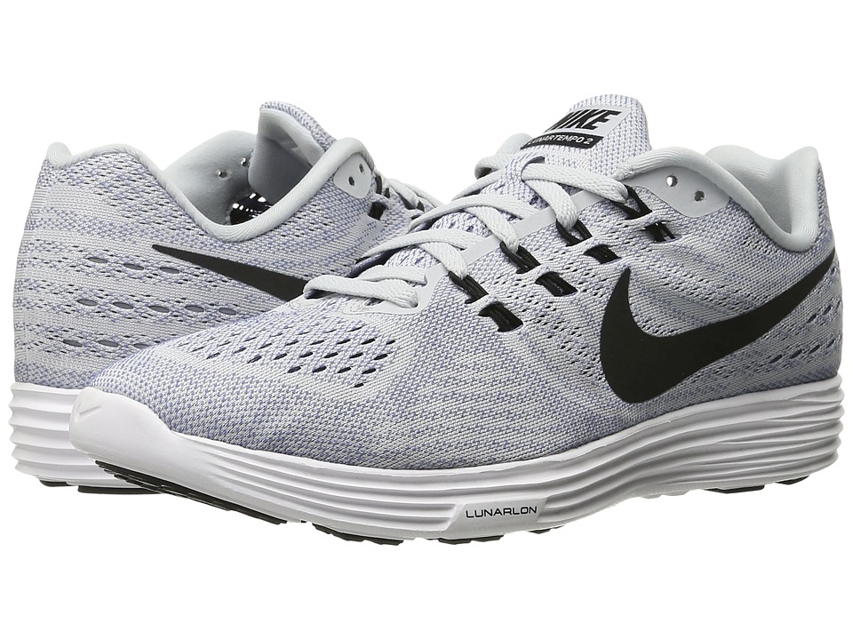 Nike - Lunartempo 2 (Pure Platinum/Ocean Fog/Total Crimson/Black) Men's Running Shoes