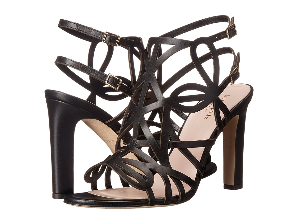 Kate Spade New York - Illana (Black Vacchetta) Women's Shoes