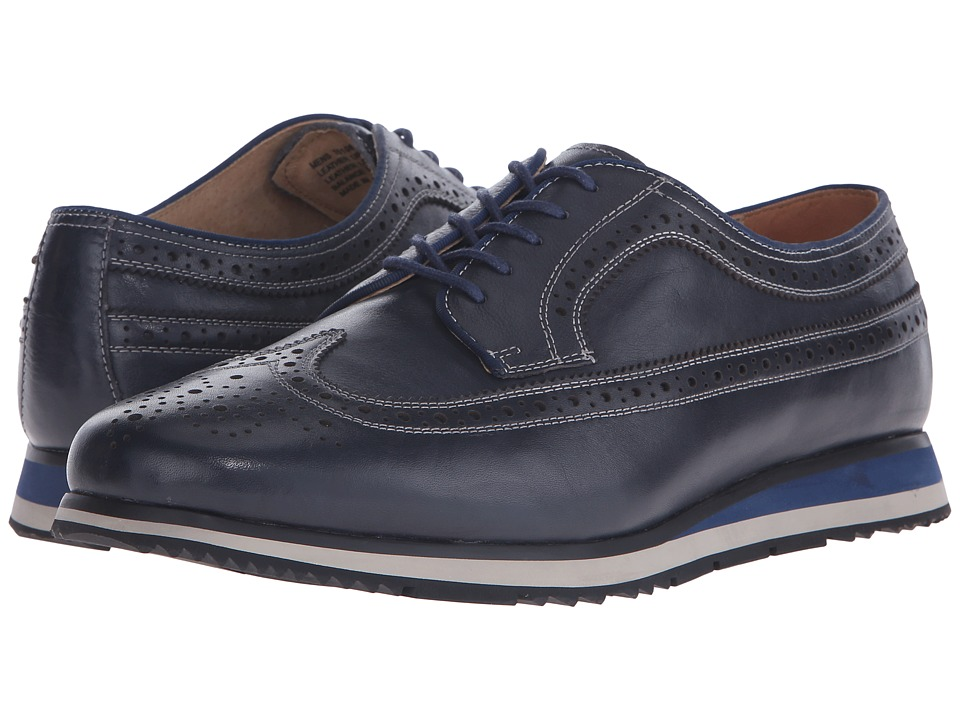 Florsheim - Flux Wingtip Oxford (Navy Milled) Men