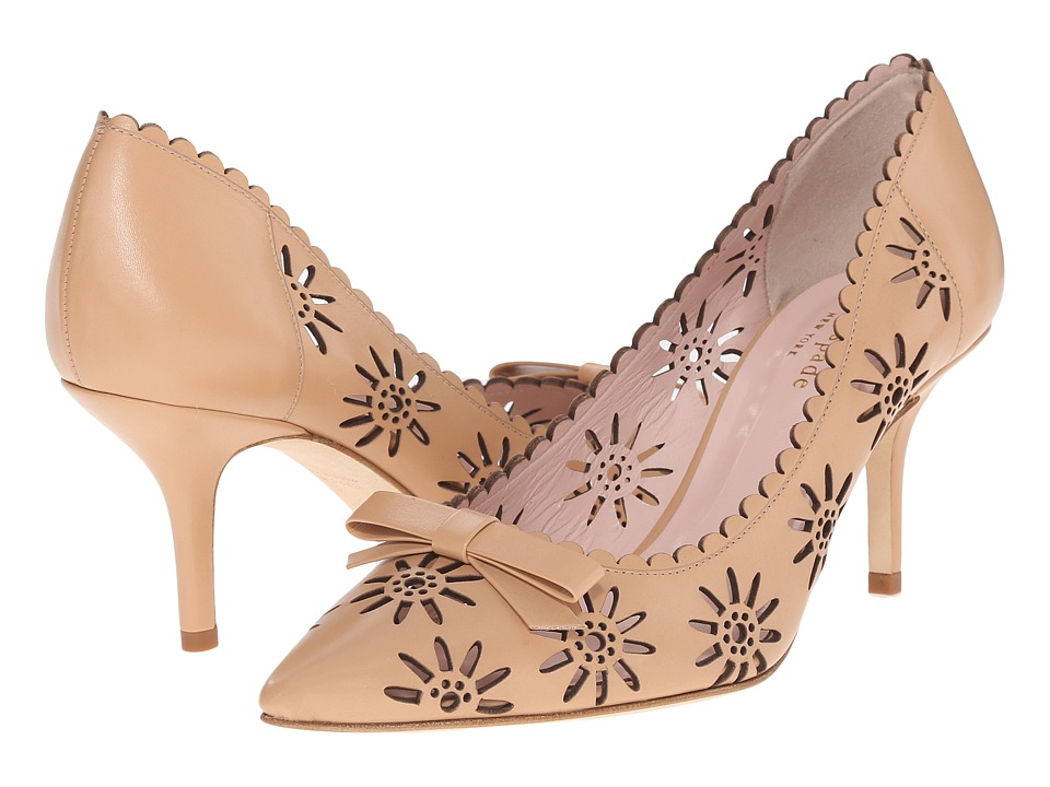 Kate Spade New York - Janina (Natural Vacchetta) Women's Shoes
