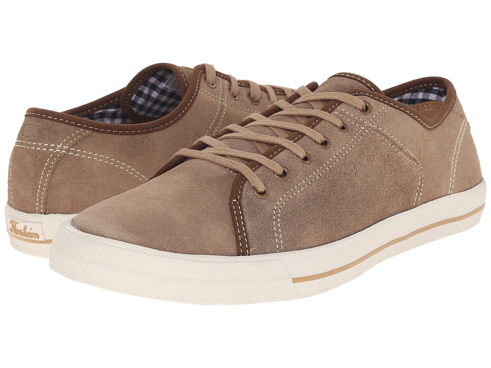 Florsheim - Flash Plain Toe Lace-Up (Stone Suede) Men