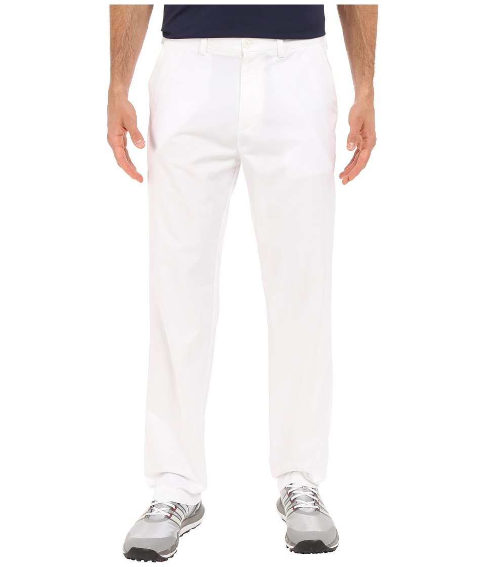 adidas Golf - CLIMALITE Relaxed Fit Pants (White) Men's Casual Pants