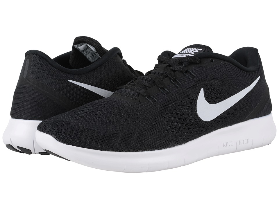 Nike - Free RN (Black/Anthracite/White) Men's Running Shoes