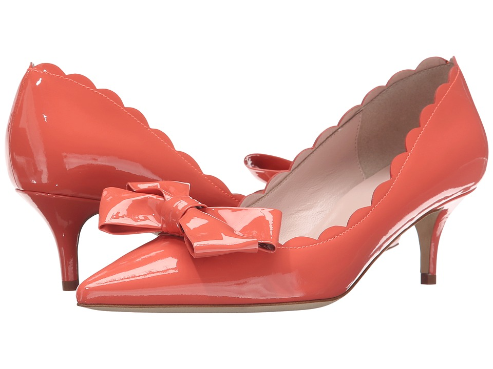 Kate Spade New York - Maxine (Pop Coral Patent) Women's Shoes