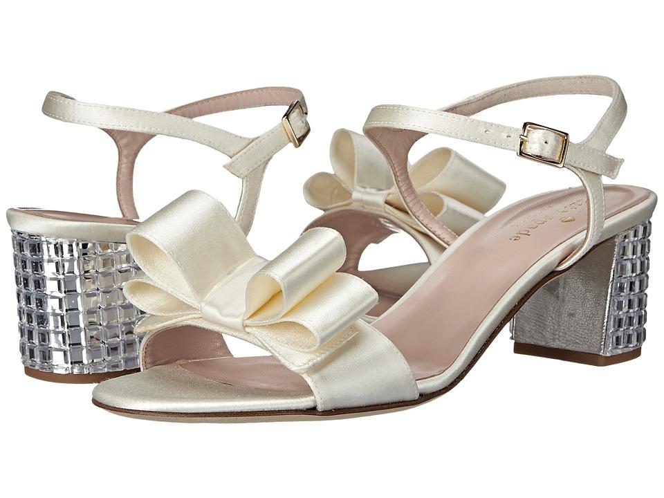 Kate Spade New York - Monne (Ivory Satin) Women's Shoes