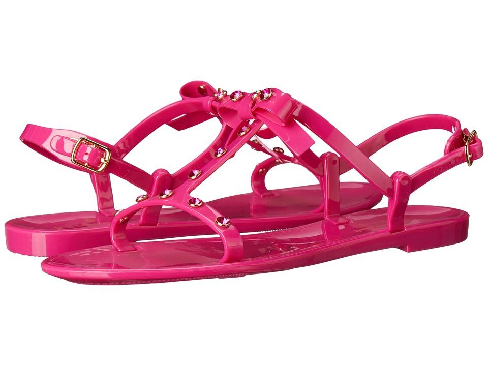 Kate Spade New York - Savannah (Deep Pink Rubber) Women's Shoes