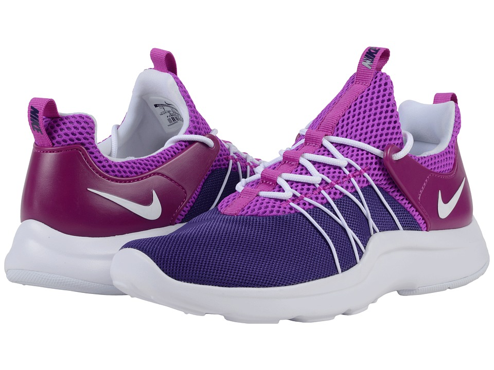Nike - Darwin (Court Purple/White/Hyper Violet) Women's Running Shoes