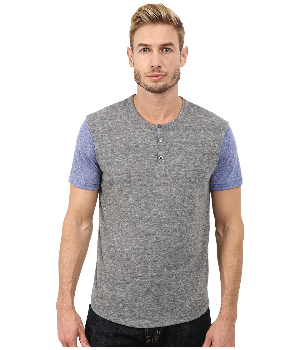 Alternative - Home Run Tee (Eco Grey/Eco Pacific Blue) Men's T Shirt