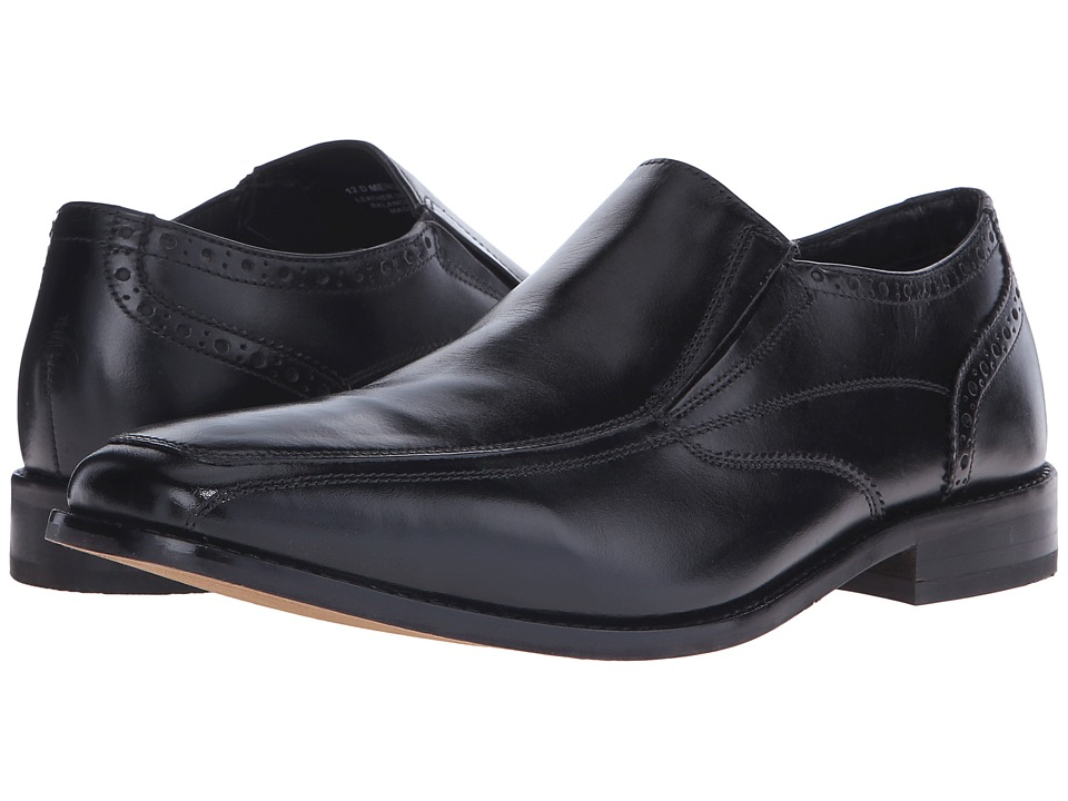 Florsheim Castellano Moc Toe Slip-On (Black Smooth) Men