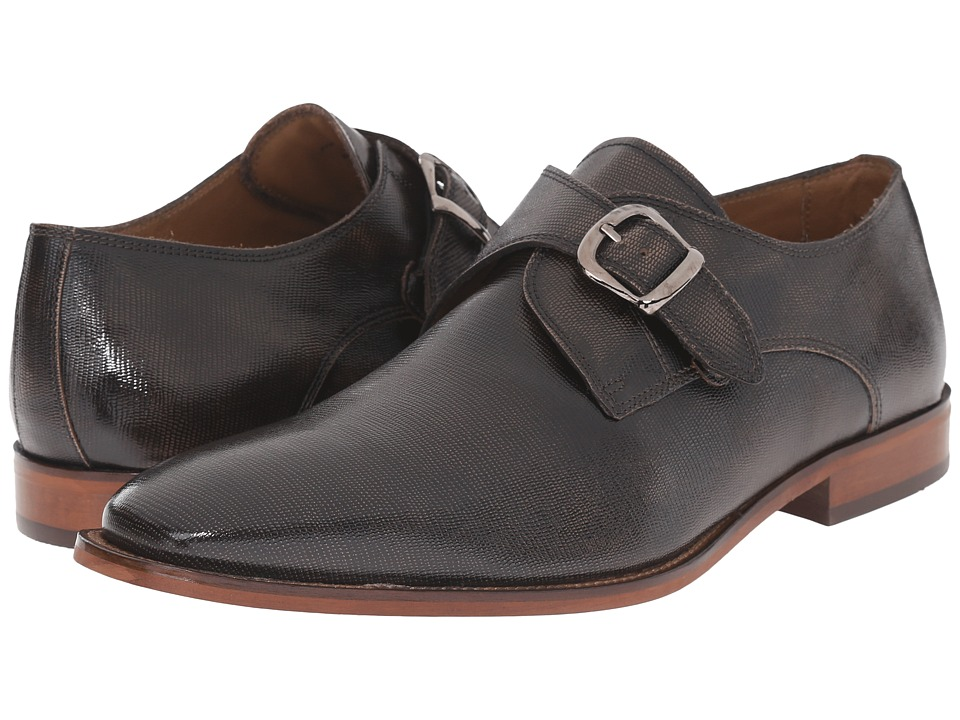 Florsheim - Sabato Plain Toe Monk (Bronze Printed) Men