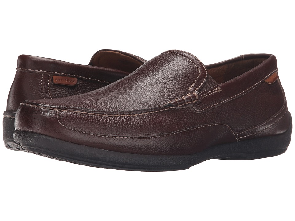 Florsheim - Moto Venetian (Brown Milled) Men's Shoes