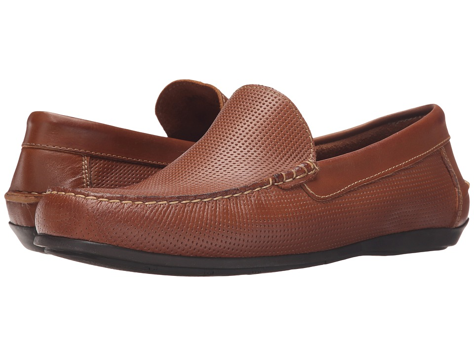 Florsheim - Jasper Perf (Cognac Smooth) Men