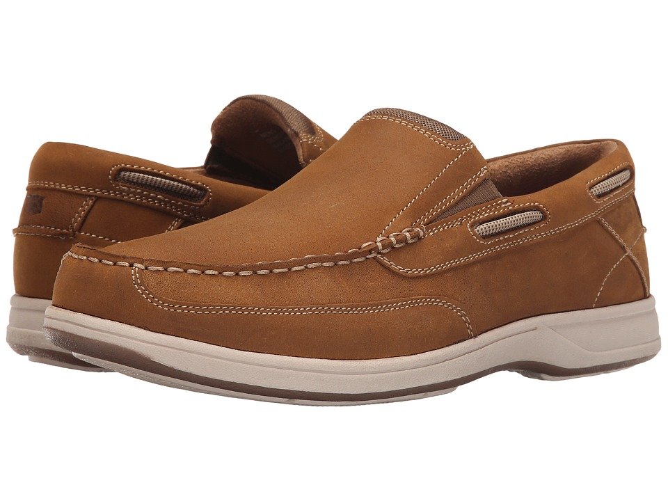 Florsheim - Lakeside Slip (Brown Crazy Horse) Men's Slip on Shoes