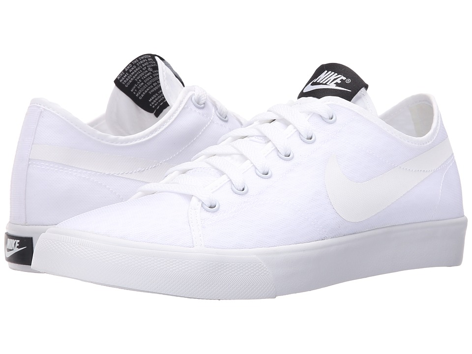 Nike - Primo Court BR (White/White/Black) Women's Shoes