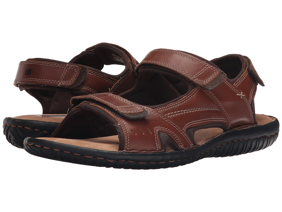 Florsheim - Coastal River Sandal (Cognac Smooth) Men's Sandals