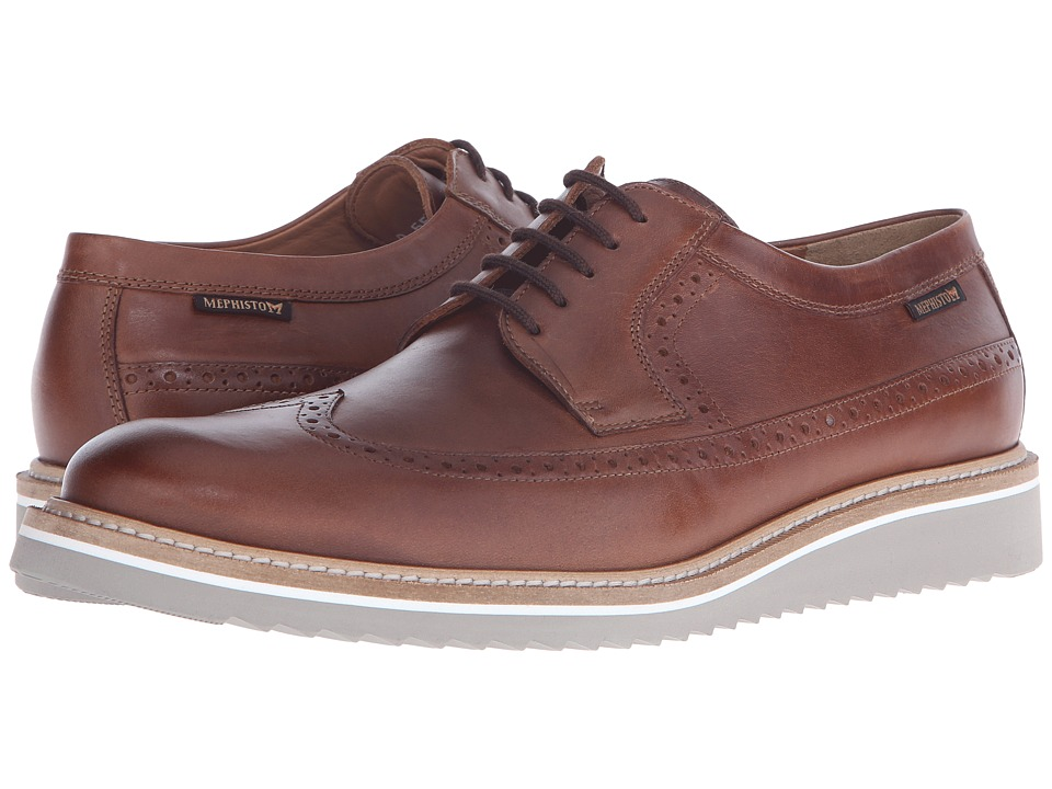 Mephisto - Enrico (Chestnut Heritage) Men's Lace up casual Shoes