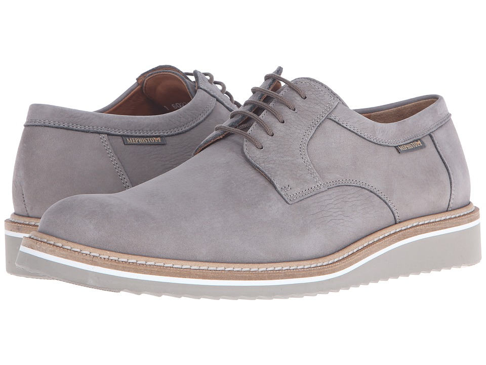 Mephisto - Enzo (Light Grey Sportbuck) Men