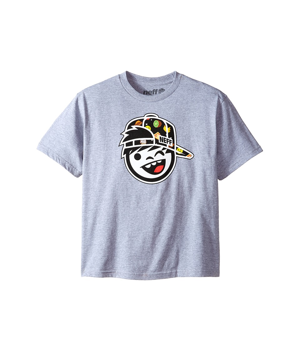 Neff Kids - Digytize Tee (Big Kids) (Athletic Heather) Boy's T Shirt