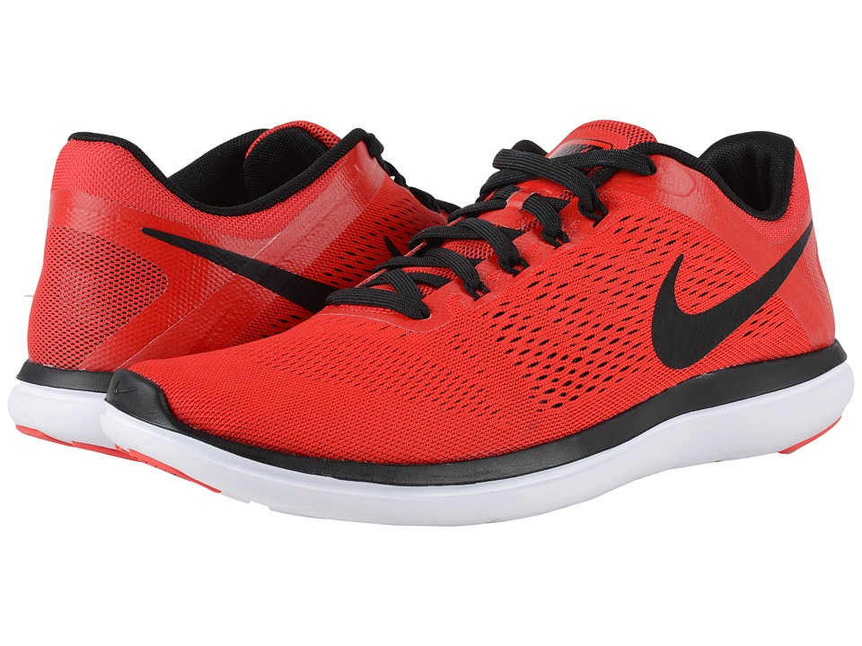 Nike - Flex 2016 RN (University Red/White/Black/Black) Men's Running Shoes