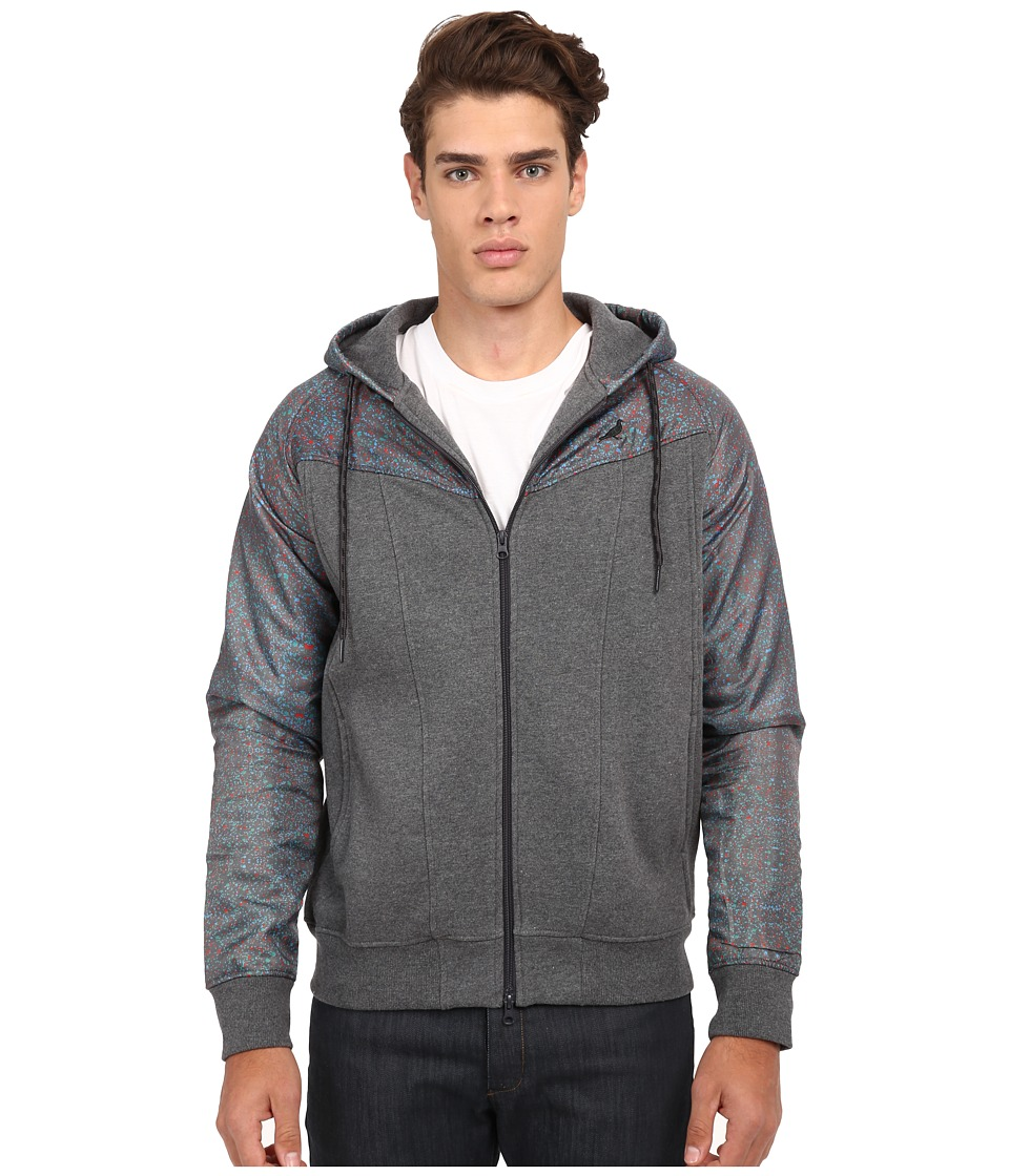 Staple - Pathfinder Zip Hoodie (Charcoal) Men's Sweatshirt