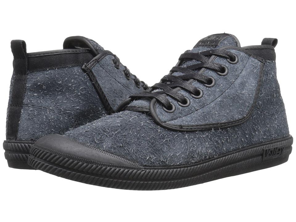 Volley Australia - High Leap Hairy Suede (Black/Black) Men's Shoes