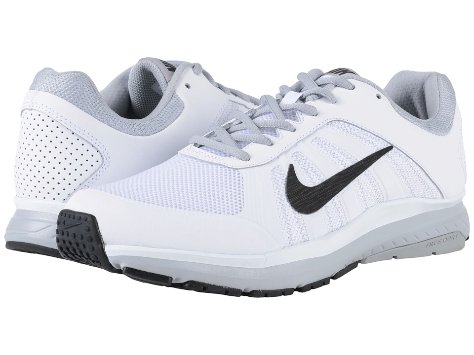 Nike - Dart 12 (White/Wolf Grey/Black) Men's Running Shoes