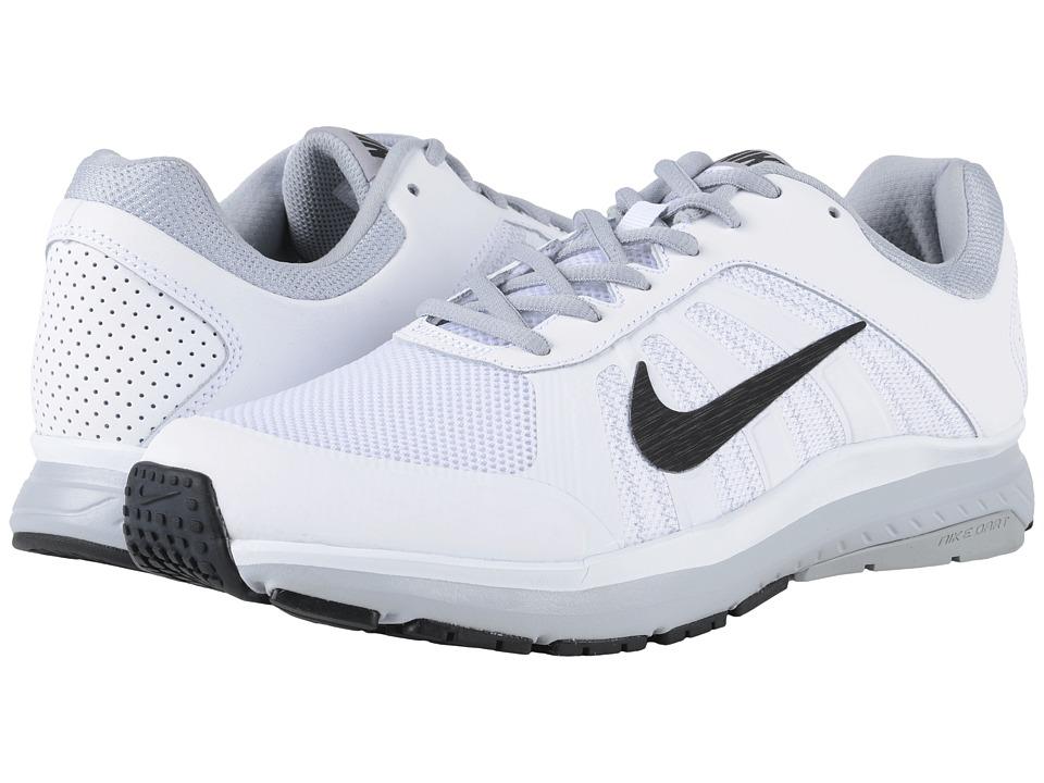 Nike - Dart 12 (White/Wolf Grey/Black) Men's Running Shoes