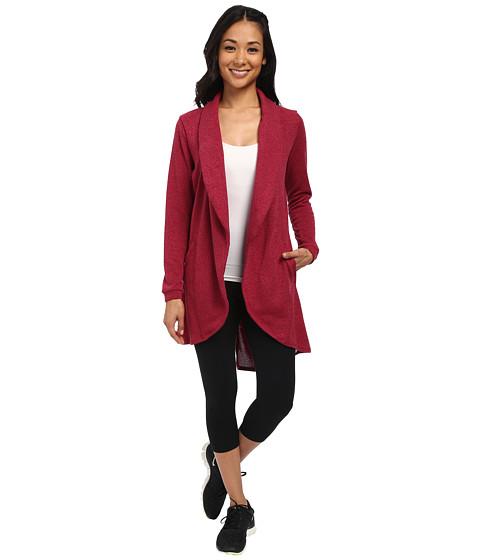 COZY ORANGE - Summit Jacket (Pinot) Women's Sweater