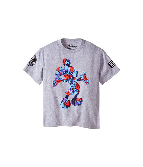 Neff Kids - Mickey Perennial Tee (Big Kids) (Athletic Heather) Boy's T Shirt