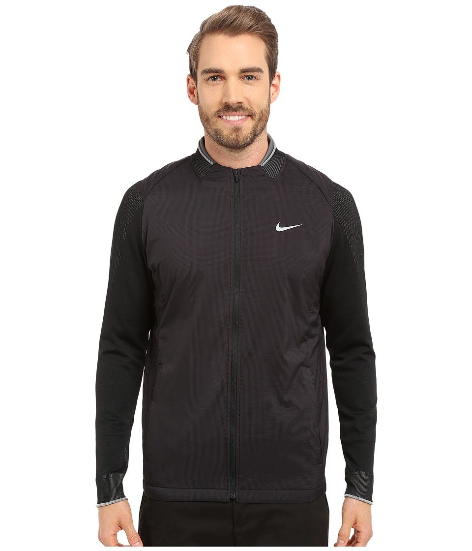 Nike Golf - Hyperadapt IFI Jacket (Black/Black/Reflective Silver) Men's Coat