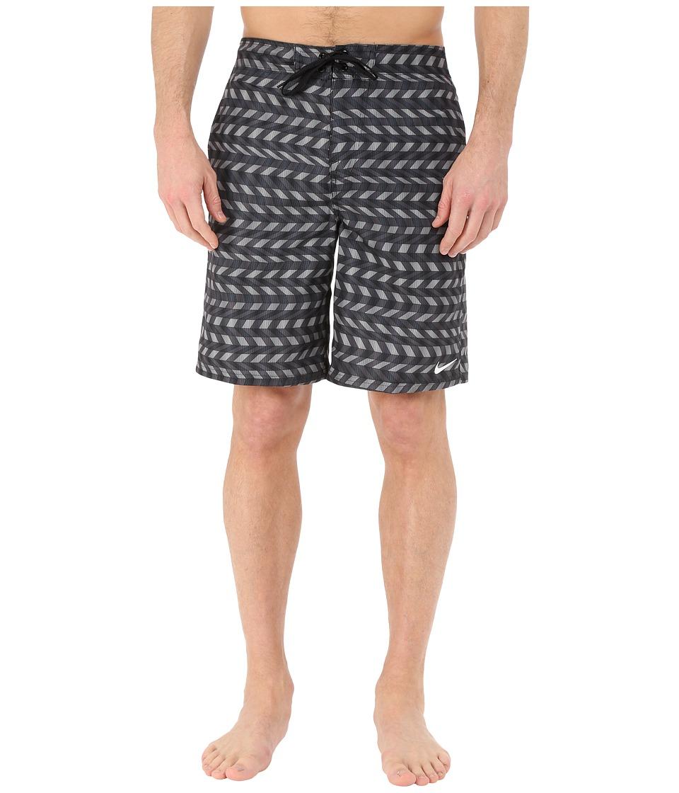 Nike - Drift Aweigh E-Board Shorts (Black) Men's Swimwear