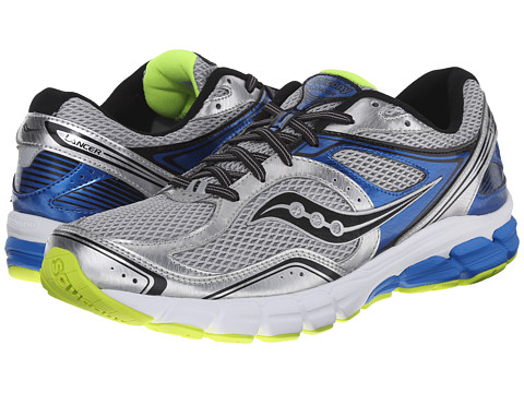Saucony - Progrid Lancer (Silver/Royal/Citron) Men